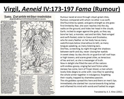 Virgil's Fama (Rumour)