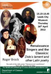 Roger Brock's poster