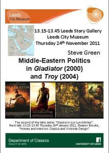 Advertising Poster for Steve's talk